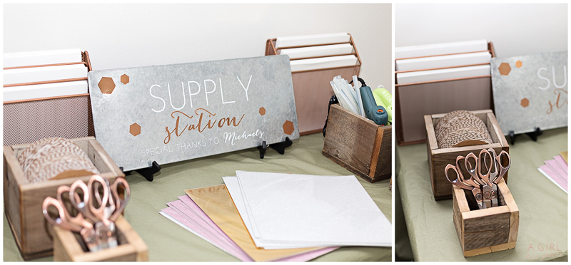 Supply station by Michaels