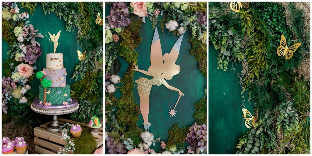 Tinkerbell Backdrop