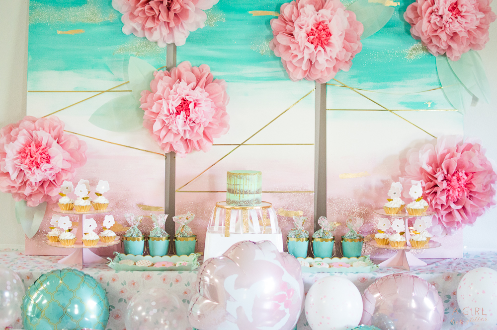Blush and Mint Party