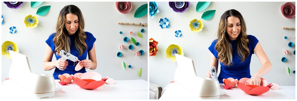 DIY Cricut Paper Flower