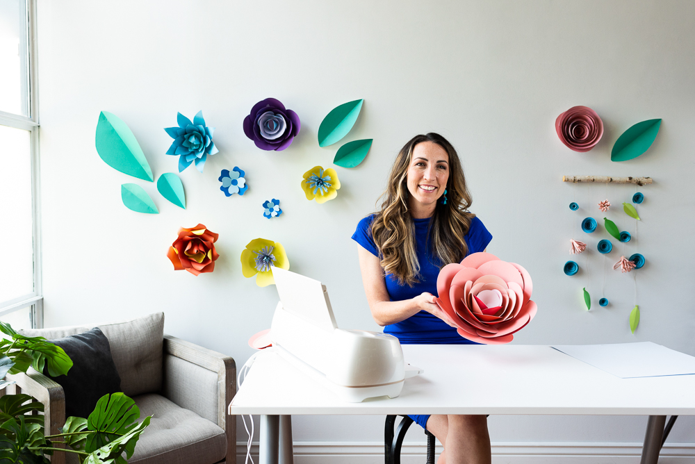 Large Paper Flower Cricut