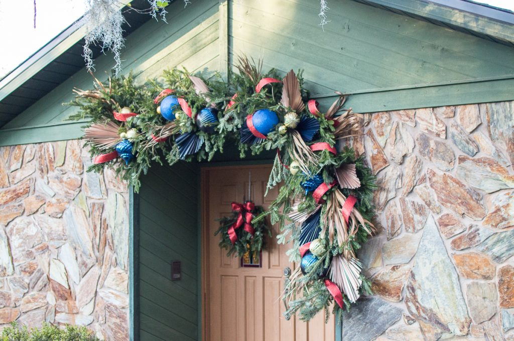 Christmas Garland Entry Front Door