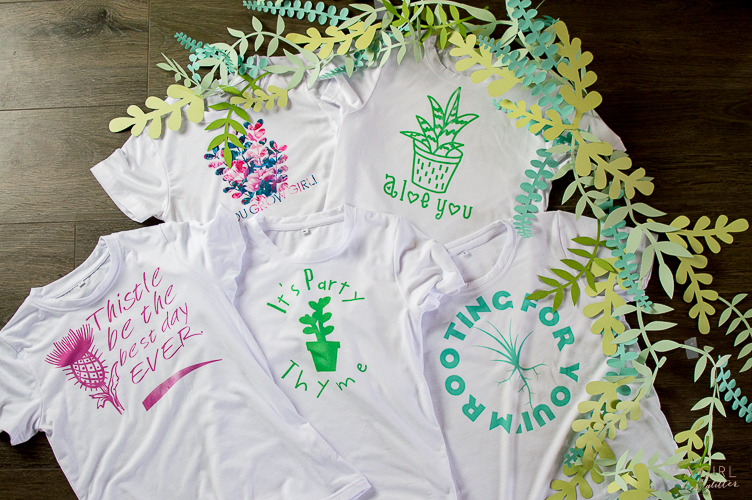 Cricut Shirt infusible ink