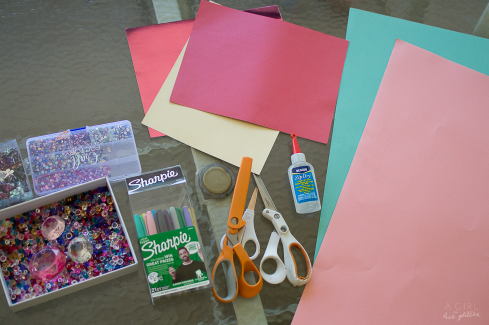 DIY mother's day supplies