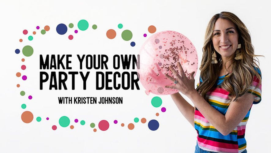 Make your own party decor